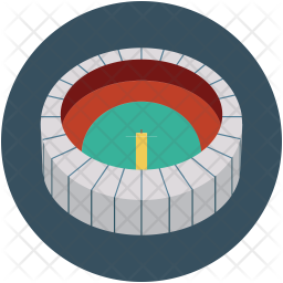 Football Stadium Icon Of Flat Style Available In Svg Png Eps Ai Icon Fonts