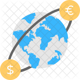 Foreign Currency Exchange Icon