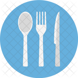 Fork, Knife, And, Spoon, Cutlery, Restaurant, Service, Serve Icon