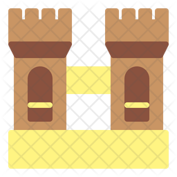 Fortress Flat Icon