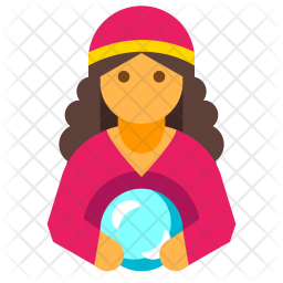 Fortune Teller Icon Of Flat Style Available In Svg Png Eps Ai Icon Fonts