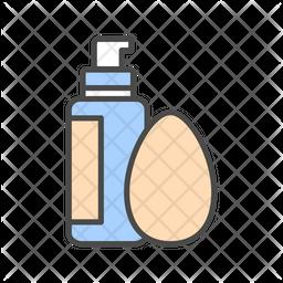 Foundation & Sponge Icon