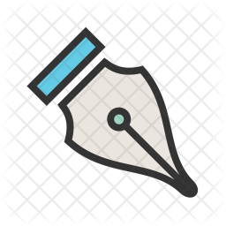 Fountain Pen Icon Of Colored Outline Style Available In Svg Png Eps Ai Icon Fonts