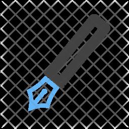 Fountain pen Flat Icon