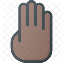 Four Colored Outline Icon
