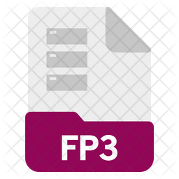 Fp3 file Icon