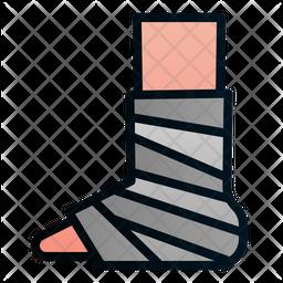 Fracture leg Icon