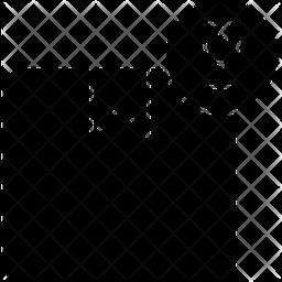 Fragile Glyph Icon
