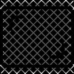 Frame Line Icon