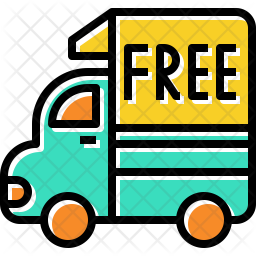 Free Home Delivery Icon