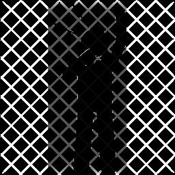 Free kick Glyph Icon