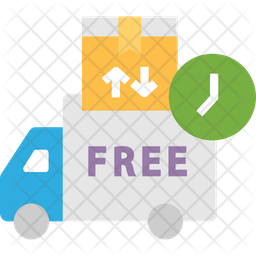 Free Logistics Delivery Icon