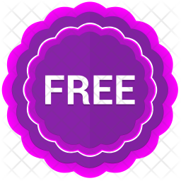 Free sticker Icon