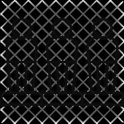 Freekick Dummy Line Icon