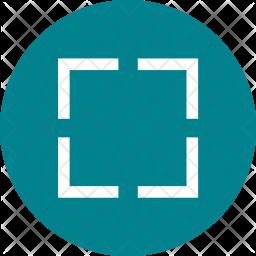 Freesize Crop Icon