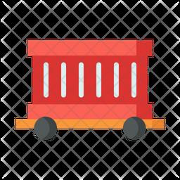 Freight Flat Icon