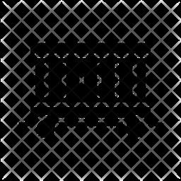 Freight Glyph Icon