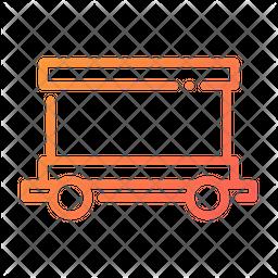 Freight Gradient Icon