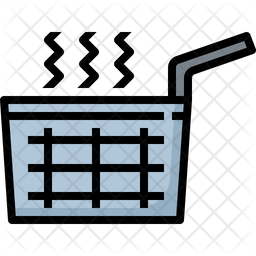 French fries sieve Icon