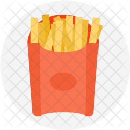French, Fries, Snacks, Fastfood, Food, Potato, Chips Icon