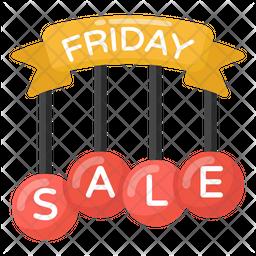 Friday Sale Icon