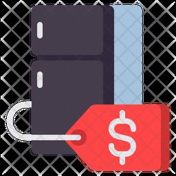 Fridge Price Icon