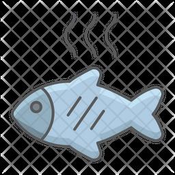 Fried Fish Icon