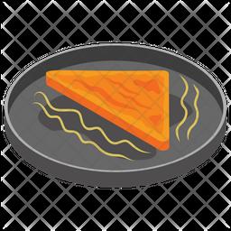 Fried Sandwich Icon
