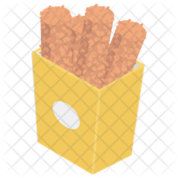 Fried Snacks Icon