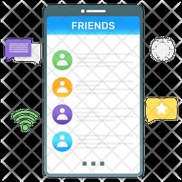 Friend List Icon