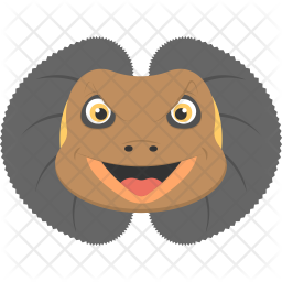 Frilled Lizard Icon png