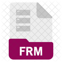 Frm file Icon