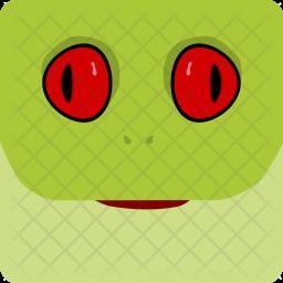 Frog, Halloween, Spooky, Seasonal Icon