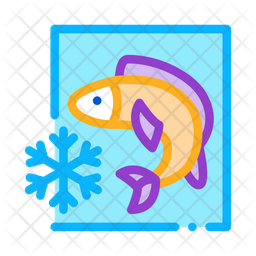 Frozen Fish Icon