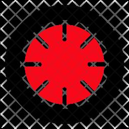 Fruit Glyph Icon