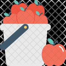 Fruit Bucket Icon