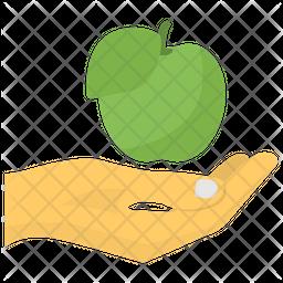 Fruit Donation Icon