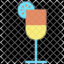 Fruit Juice Flat Icon