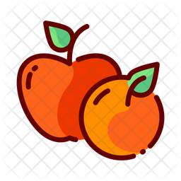 Fruits Icon Of Colored Outline Style Available In Svg Png Eps Ai Icon Fonts