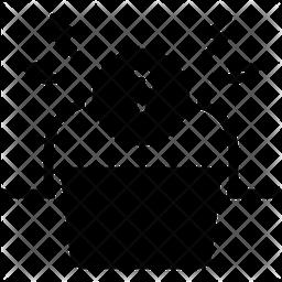 Frustration Glyph Icon