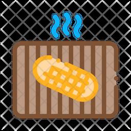 Frying Bread Icon