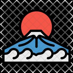 Fuji Japan Icon