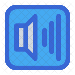Full Volume Colored Outline Icon