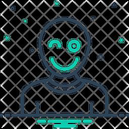 Fun Line Icon