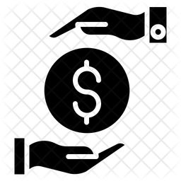 Funding Dollar Glyph Icon