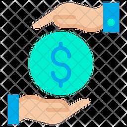 Funding Dollar Flat Icon