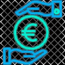 Funding Euro Line Icon
