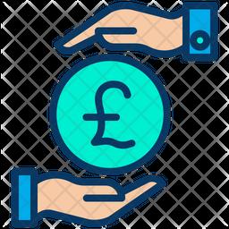 Funding Pound Icon