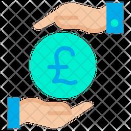 Funding Pound Flat Icon