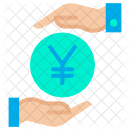 Funding Yen Flat Icon